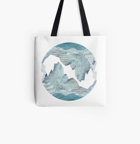 Sea and sky  All Over Print Tote Bag