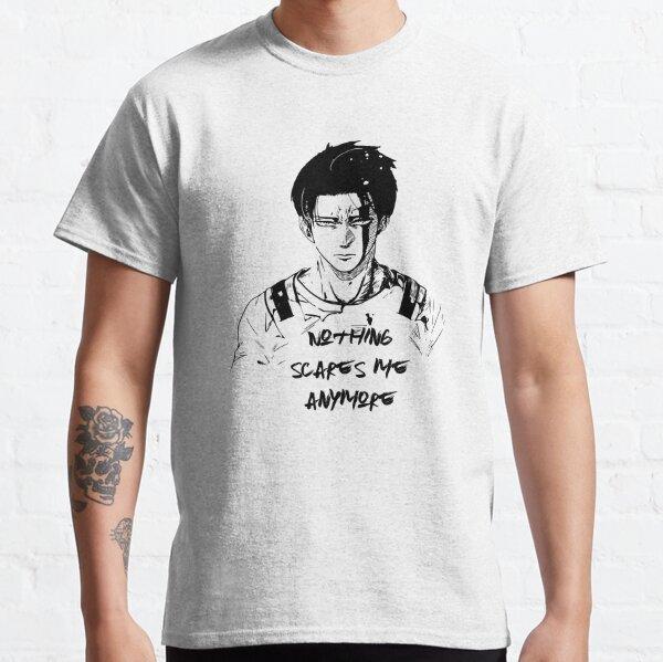 Levi Ackerman Anime Fan art T-shirt classique