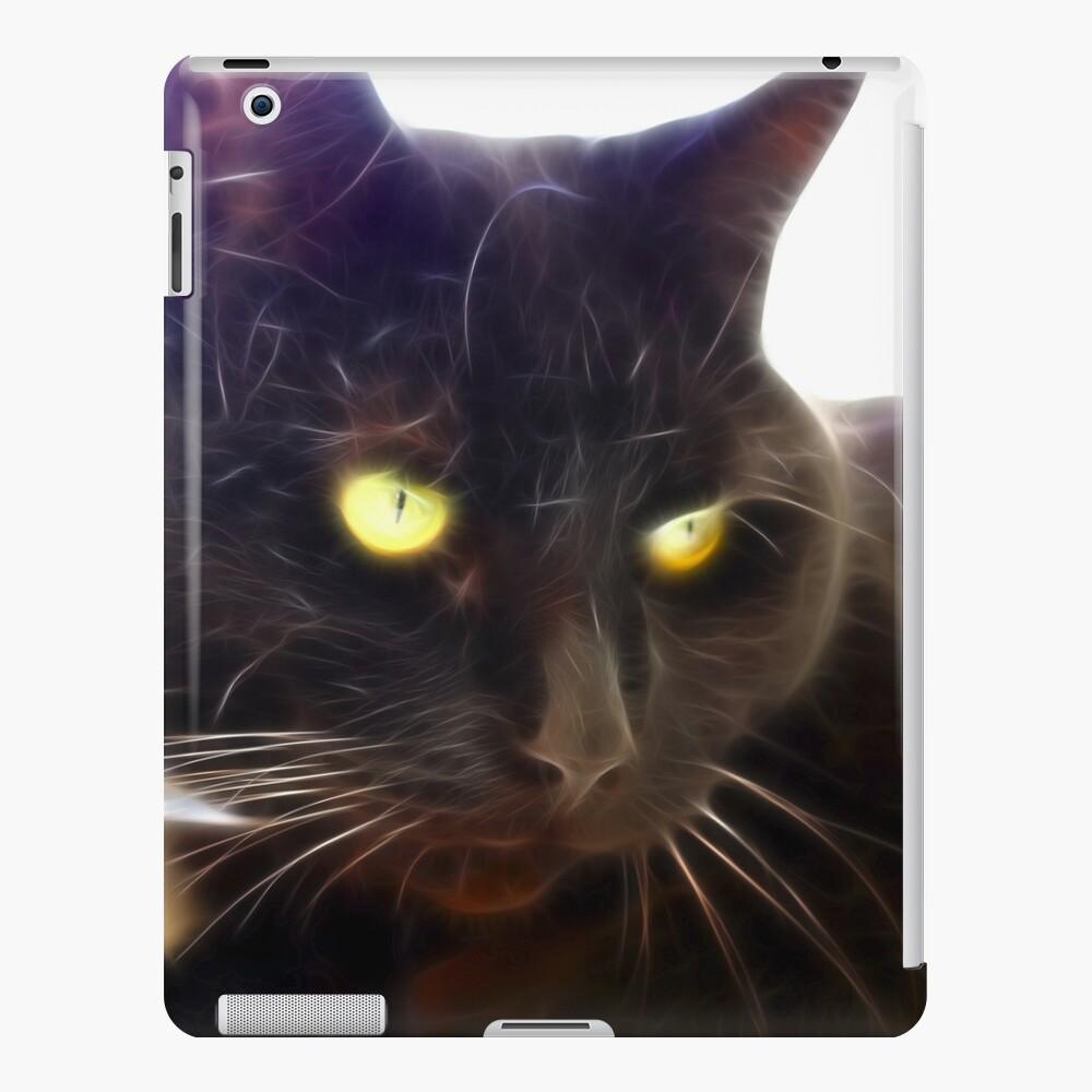 Black Cat iPad Case & Skin
