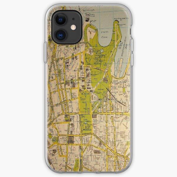 Sydney Stadtplan iPhone Flexible Hülle