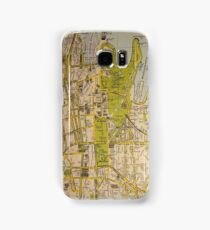 Sydney City Map Samsung Galaxy Case/Skin