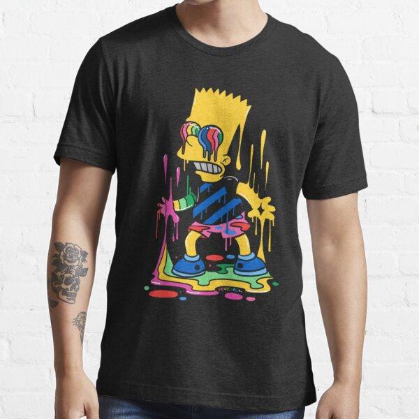 Simpsons Trippy Bart Classic Essential T-Shirt