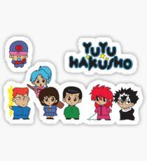 Chibi Hakusho!  Sticker