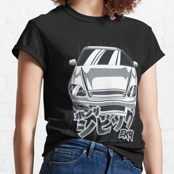 Obtenez FNkd New Age Hero FK8 CIVIC TYPE R T-Shirt-Blanc Honda Vtec Turbo Fashion