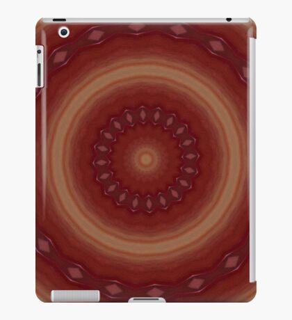 Red kaleidoscope iPad cover iPad-Hülle & Klebefolie