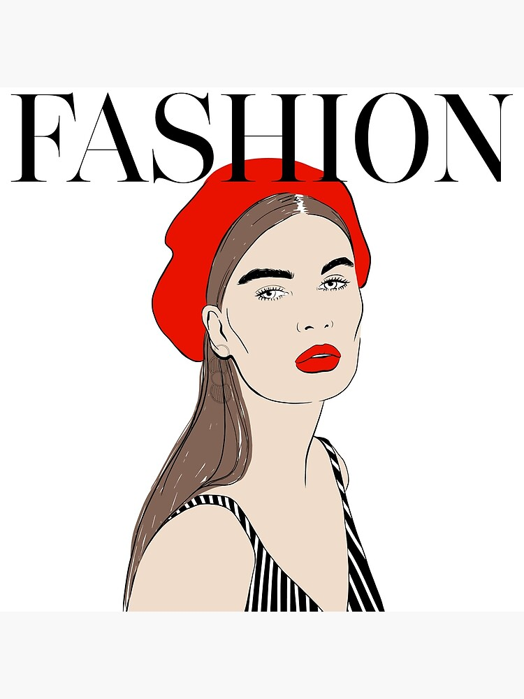 Fashion Red Art by TapestryGirls