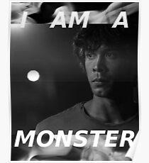 Póster Un monstruo