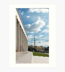 Different architectures Art Print