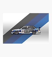 Volvo 850 Saloon TWR BTCC Racing Super Touring Car (1995) Photographic Print
