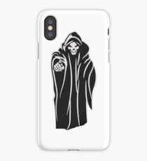 Death hooded evil iPhone Case