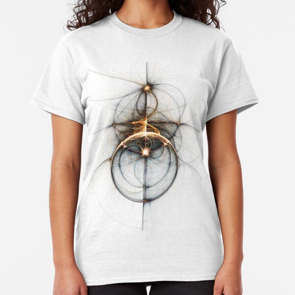 Shooting star - Abstract Fractal Artwork Classic T-Shirt