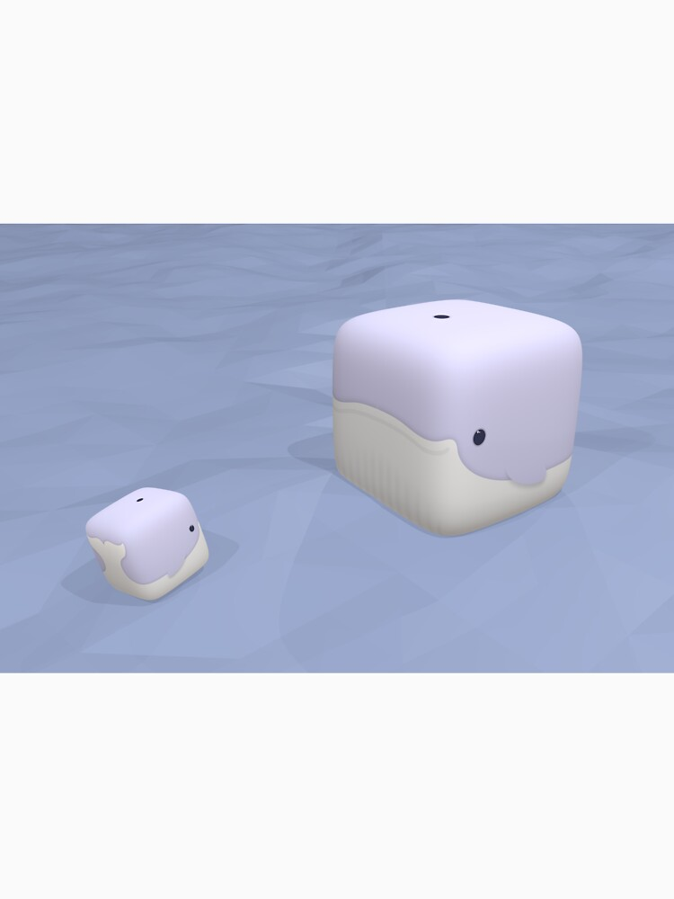 Cube Whale Blue Whale by Cheeseness