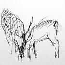 Deer Lines by Hekla Hekla