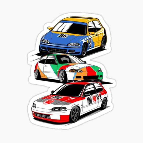 Honda EG6 SiR Sticker