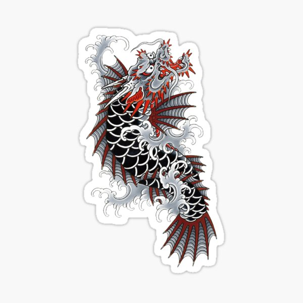 Yakuza Like a Dragon Ichiban Tattoo Pegatina