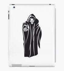 Death hooded evil iPad Case/Skin