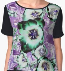 Psychedelic Blooms Women's Chiffon Top