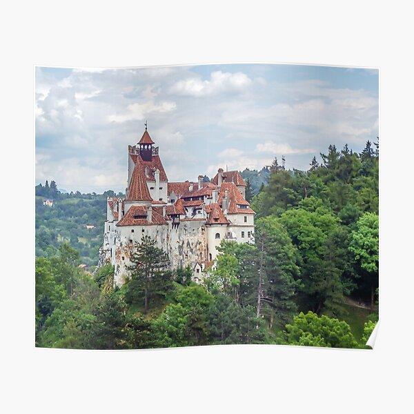 Bran Castle view Poster