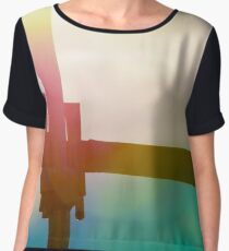 Lens flare Women's Chiffon Top