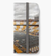 Bleed Orange and White iPhone Wallet/Case/Skin