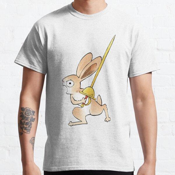 Medieval Rabbit & Rapier Classic T-Shirt