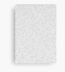 Prime Numbers Canvas Print