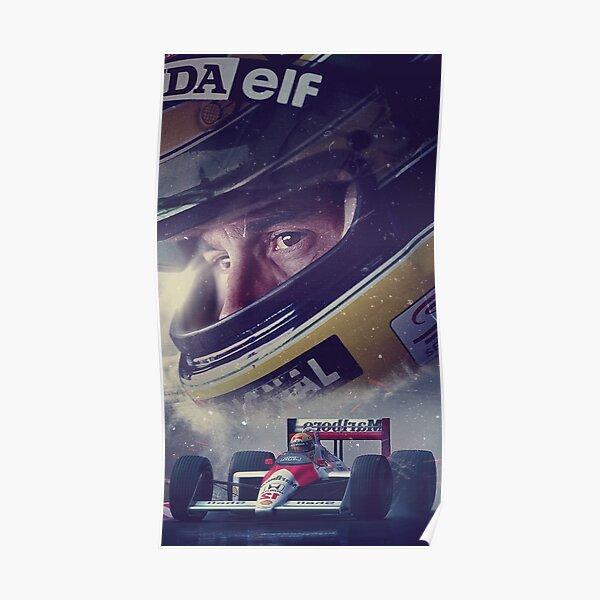 Fond d'écran Illustration Ayrton Senna Poster
