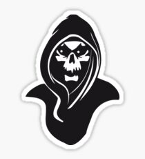 Death hood Sticker