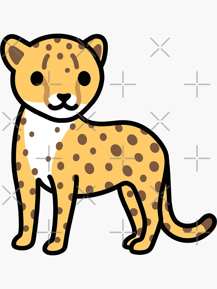 Cheetah by littlemandyart