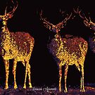 Caribou or Deer - Forest Dwellers by Mariecor Agravante