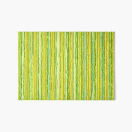 Green 303 Art Board Print