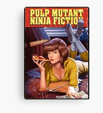 Pulp Mutant Ninja Fiction Canvas Print