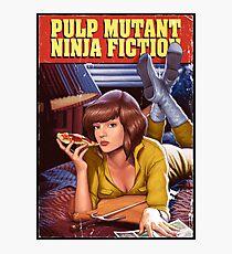 Pulp Mutant Ninja Fiction Photographic Print