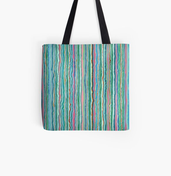 Green 304 All Over Print Tote Bag