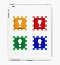 Power-up Blocks (Square version) iPad Case/Skin