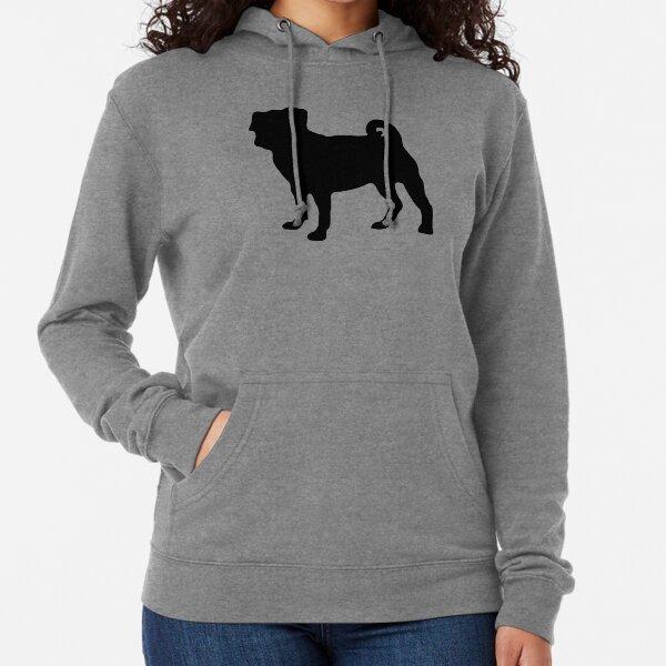 Pug Lightweight Hoodie