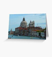 Basilica di Santa Maria della Salute, Venice Greeting Card
