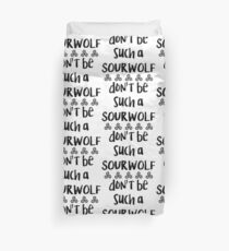 Sour Wolf Duvet Cover