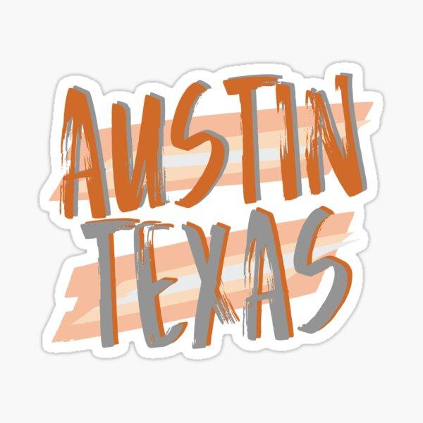 Austin Texas Sticker
