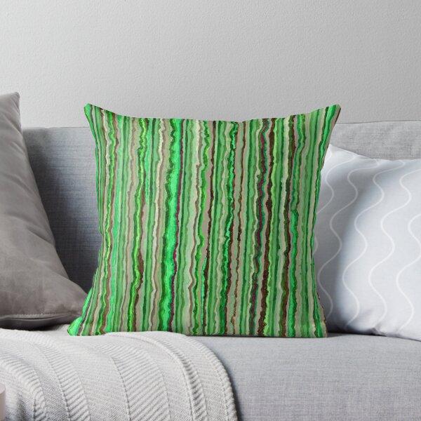 Green 307 Throw Pillow