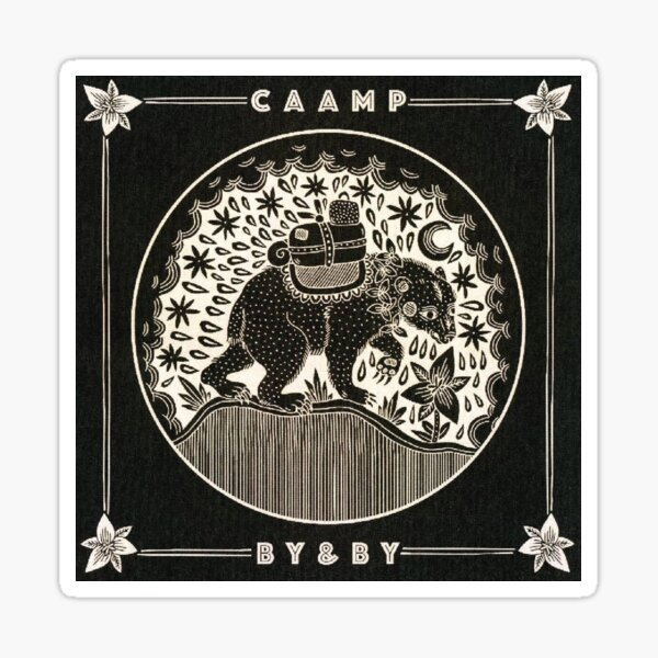 By & By - Caamp Sticker