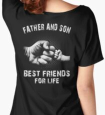 Father And Son - Father's Day Women's Relaxed Fit T-Shirt