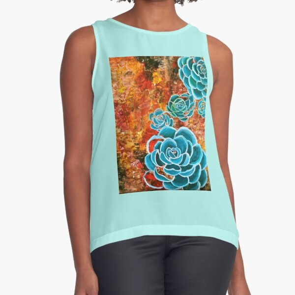 Succulent Love Sleeveless Top
