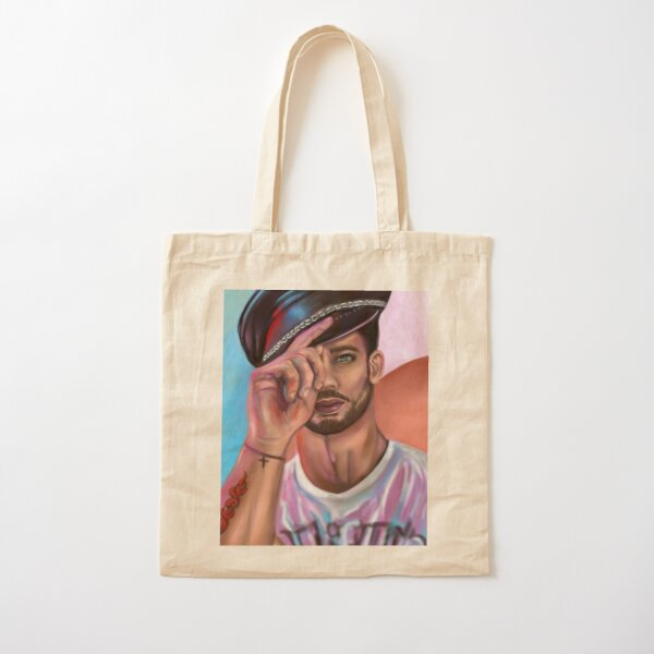 The tired model Cotton Tote Bag