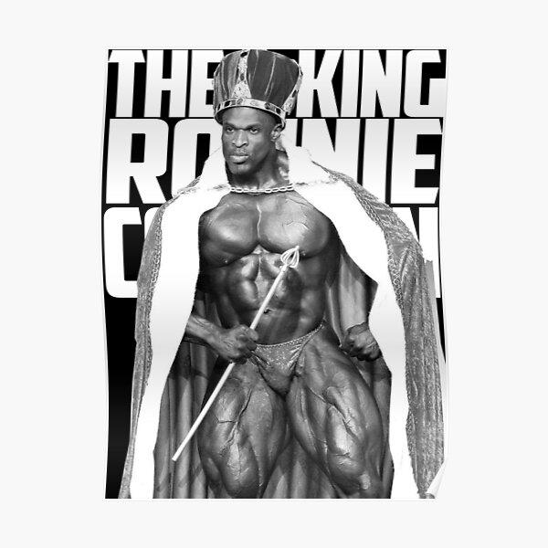 Ronnie Coleman DER KÖNIG Poster
