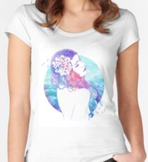 A Free Spirit Women's Fitted Scoop T-Shirt