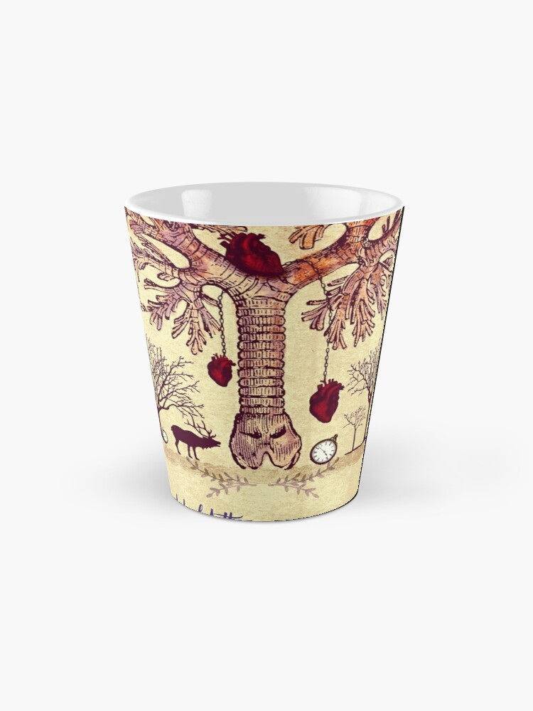 Alternate view of lung trees Mug