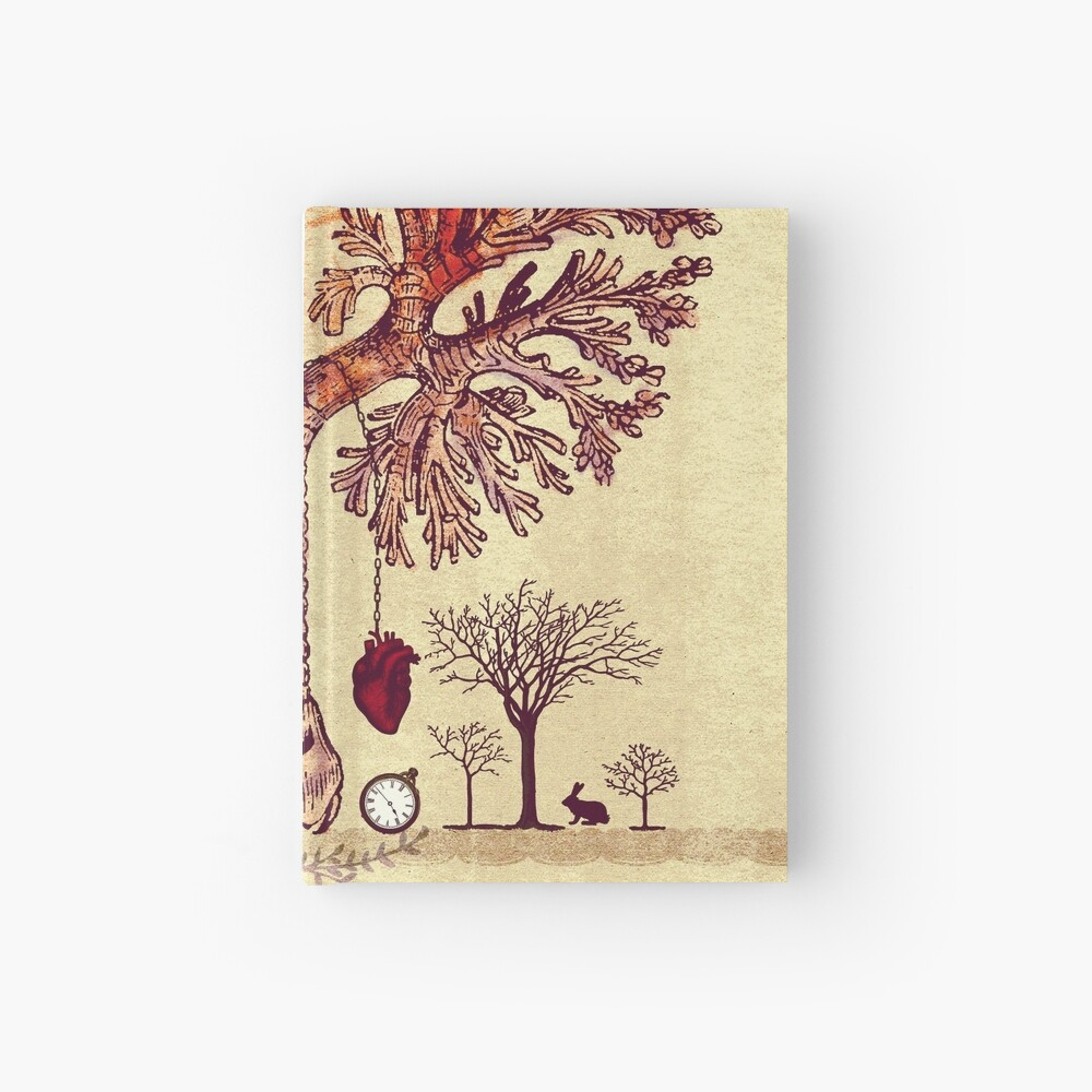 lung trees Hardcover Journal