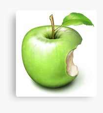 Apple Core Metal Print