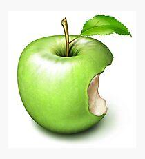 Apple Core Photographic Print